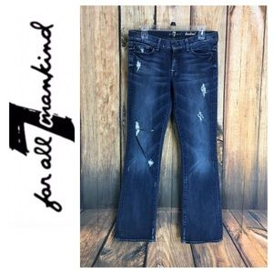 🐞7 for All Mankind Bootcut denim jean in size 29